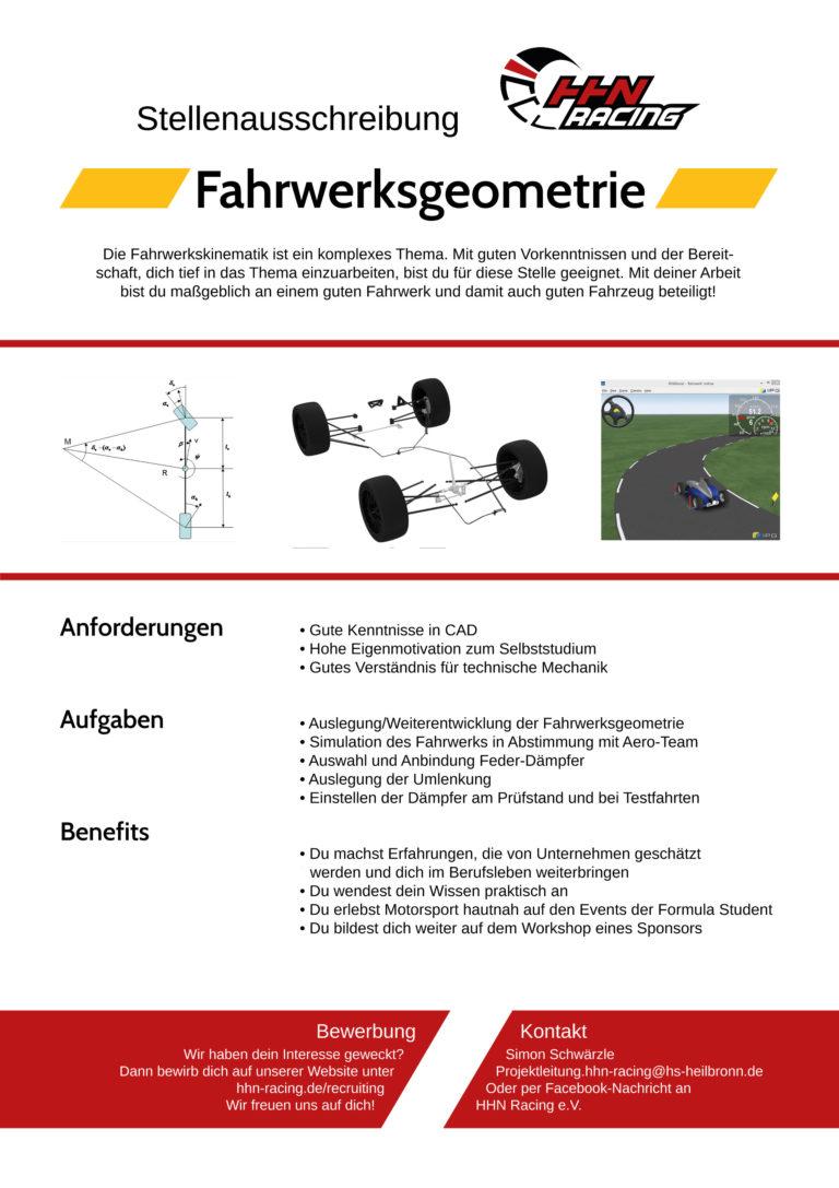 Fahrwerksgeometrie