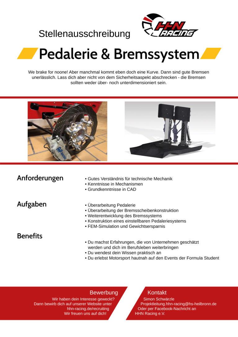Pedalerie_Bremssystem